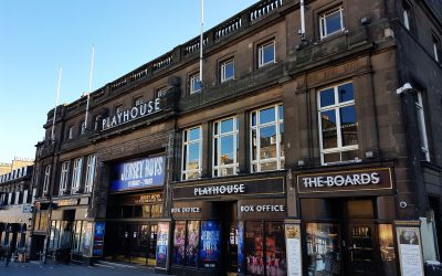 Shezan's Shared History with Edinburgh Playhouse